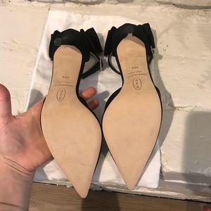 SJP by Sarah Jessica Parker Shoes - SJP Black bow tie Heels (Sarah Jessica Parker)